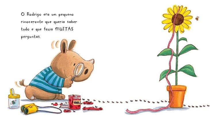 Resultado de imagem para rinoceronte rodrigo livros